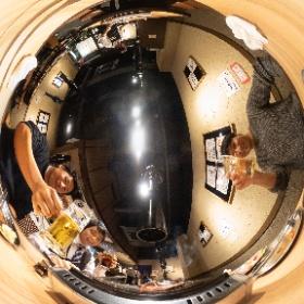 株式会社中心屋様のウェブサイト撮影。終了後に焼肉をいただきました! #theta360