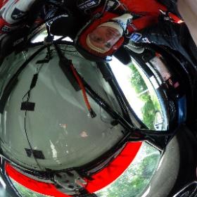 Ein Blick aus dem Cockpit eines Audi TT bei der Labertal Rallye