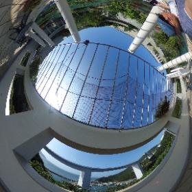 大塚国際美術館 モネの睡蓮の屋外複製展示 #theta360