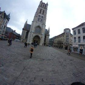 [比利時/根特]  聖巴夫主教堂前