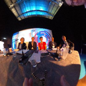 My team talking at Health+Care 2016 about the countdown to Accountable Care  #theta360