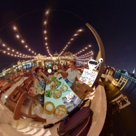 360 spherical Yodpiman River Walk is a heritage theme hospitality complex on Chao Phraya river wizards views in old Bangkok city, SM hub https://goo.gl/t5TAlw BEST HASHTAGS #YodpimanRiverWalk  #Firefly3d #ChaoPhrayaRiverIcon #theta360