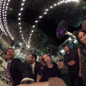 #TheOscarGoesToKelly, Kelly Oscar Wedding, Palm Springs, The Avalon Hotel, #TheTongue,  #theta360