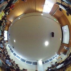 Full room at #devfestopo @gdgporto spherically seen  #theta360