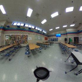 Pleasant Grove - Cafeteria #theta360