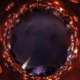 常滑市 陶と灯の日(10月10日) #momiji3d #theta360