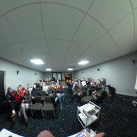 #360selfie of my wonderful @NottmDerbyBCS #bcsevent audience - you were great! #theta360 #theta360uk