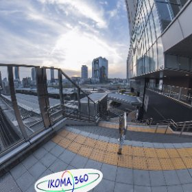 Osaka Station City Single DNG developed in LR +Stitcher #thetaz1 #theta #thetaのある生活 #theta360