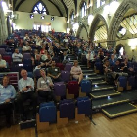#360selfie of my wonderful audience at today's @UofGlasgow #UofGFuture Future Proof IT event #theta360 #theta360uk