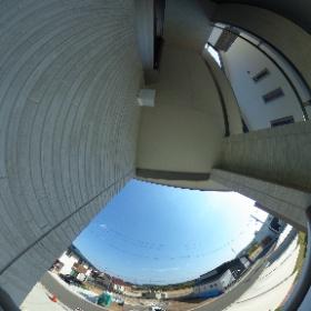 阿南市住吉町分譲住宅 B-6号地2Fバルコニーからの眺望です。