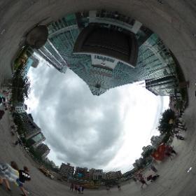 #まるちゃん台湾旅行 #台北101 #theta360