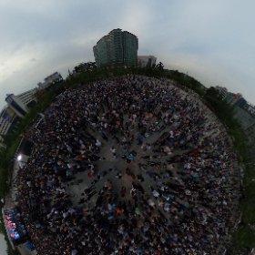 일산 미관광장 #theta360