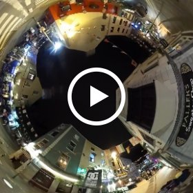 The Busker's Night is Over, on pedestrianised High and Quay Street's junction on the Cross Street in Galway city centre #Galway2019 #SummerInGalway #TheCraicInGalway #firefly3d #thisisgalway #Galway2020 #theta360 #theta360uk