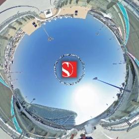 2016 - Abu Dhabi Grand Prix - Marcus Ericsson & Felipe Nasr, Bridge To Paddock - Sauber F1 Team