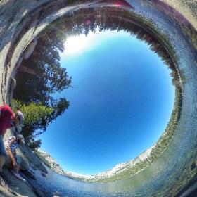Lake Tenaya, Yosemite National Park #theta360