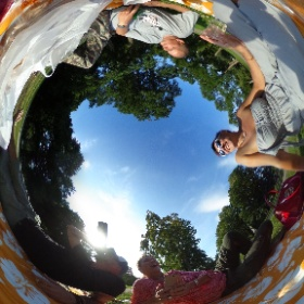 2017 One day at the park #theta360