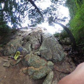瑞牆カンマンボロン 砂のエリア 砂の塔/岩の殿堂 #theta360