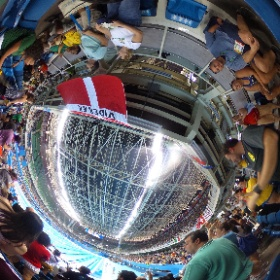 #Rio2016 #競泳予選 #盛り上がる瞬間 #theta360