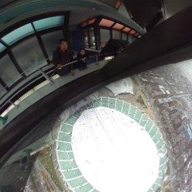 Saluti dalla torre inclinata più alta del mondo!