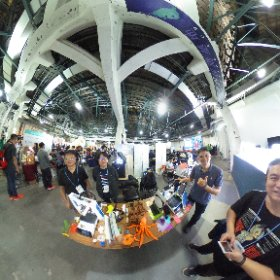 2018.11.03 Maker Faire Taipei 2018 -   最近非常火熱的金屬機身 3D 印表機 - 2018 新鋼鐵 i3 ( GND3dp巧恩國際 )
