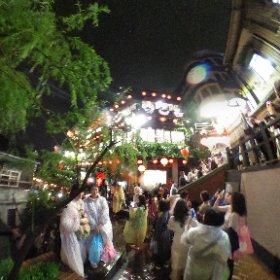 蘇る台湾4 九份は「千と千尋の神隠し」の舞台じゃないか?って言われている。 再投稿です。2019年9月 #台湾旅行 #阿妹茶酒館 #九份 #台湾茶 #theta360