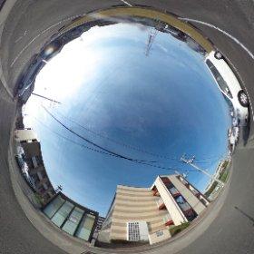 松山市の賃貸マンション、グランドカメリアⅥの南側