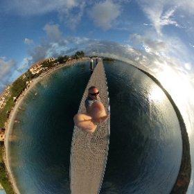 Nice relaxing day at Santa Barbara Resort in Curacao #theta360
