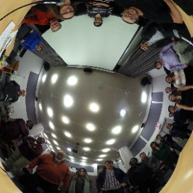 #Moverio at 2016 Big Mini Media Festival VR Panel @LIUBrooklyn w/ Amazing @Caitlin_Burns & @danield_nyc - @NYCVRU #theta360