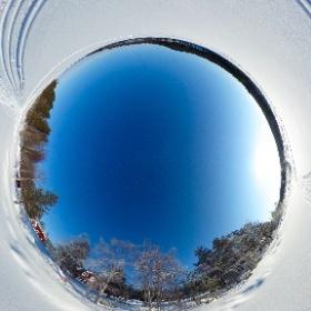 Schneeschuhtour bei Malaå mit der Ricoh Theta S in Schwedisch Lappland mit www.FlorianGerla.ch #theta360 #theta360de