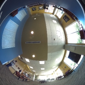 Riverview lounge/mailboxes #theta360
