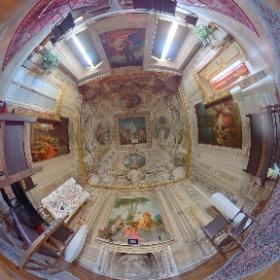 Palazzo Brunetti-Candiotti, Sala di Erminia, Rione Ammanniti, Foligno #quintana #quintana4d #q4d #theta360