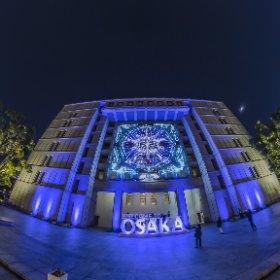 Festival of the Lights 2019 in Osaka #thetaz1 #SingleDNG #theta360