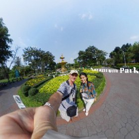 most have no idea how rich this park is in Bangkok Saranrom Park Gardens, SM hub https://goo.gl/vsIFjU #TravelLocalThai  #SaranromPark    #butterfly3d