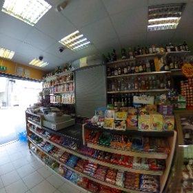 Food shop Plaistow  #theta360