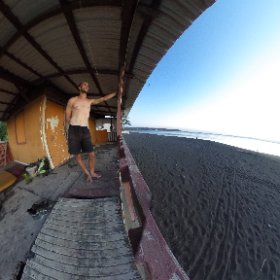 My abandoned house by the beach.  #theta360