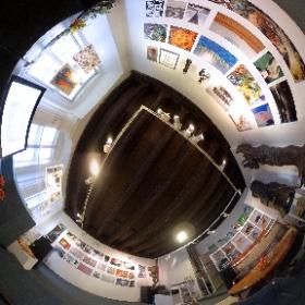 """""UNITED"" international exhibition in Gologorski Gallery in Krakow #theta360"