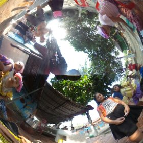 NGO Via Del Campo care about their children. Sihanoukville - Cambodia #theta360