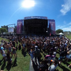 #homeawayacl just before @flightfacilities took off! What an amazing band/artists #theta360