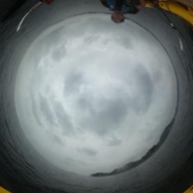 今日は、べたなぎ。曇りではあるが、シーカヤックには快適。 #theta360