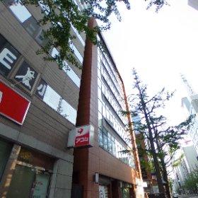 STV興発『時計台通ビル(札幌市中央区)』です。画像の方向を180度反対にすると、札幌のシンボル・時計台が見えて来ます。 #theta360