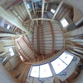 □haus-duo□ 2階個室。中庭に面して明るいです♪ #hausduo #haus #一級建築士事務所haus #中庭 #洋室 #注文住宅 #設計 #デザイン #工事 #theta360