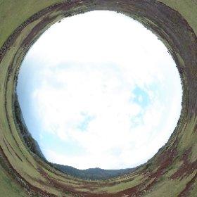 #世界遺産候補 #旧野首教会 のある #野崎島 の #野崎集落 の北ある絶景。日本でみれない情景がここにある。 #theta360