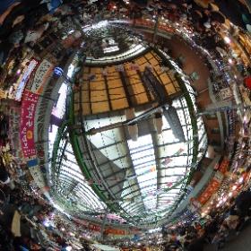 #広蔵市場 #theta360