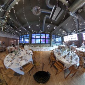A wee #360pic of a recent wedding set up at West on the Green in Glasgow  #theta360 #theta360uk