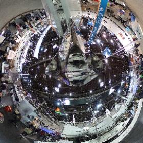360-Grad-Panorama-Foto aus Halle 16 während der Wasserportmesse boot 2017 in Düsseldorf.  #boot #Düsseldorf #Segelyachten #Yachten #Bootsausstellung #theta360 #theta360de