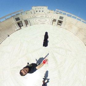 Katara Amphitheatre #theta360
