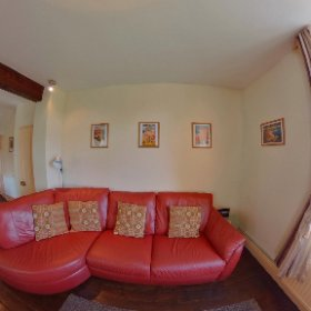 Station Master's House lounge / dining room #theta360 #theta360uk