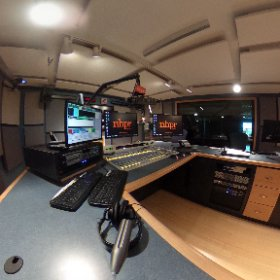 A 360 view of Control Room 2 at NHPR #theta360