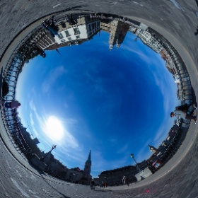 Zurich Old Town Switzerland #theta360