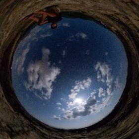 春田浜海岸   屋久島を自由に旅する GREEN MOUNT  #theta360